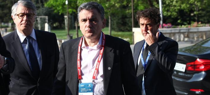 O Ευκλείδης Τσακαλώτος, στο άτυπο Eurogroup της Σόφιας/Φωτογραφία: Intimenews