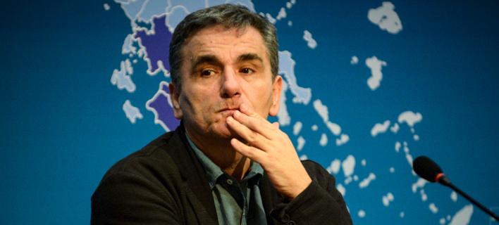Ο υπουργός Οικονομικών, Ευκλείδης Τσακαλώτος/Φωτογραφία αρχείου: Eurokinissi