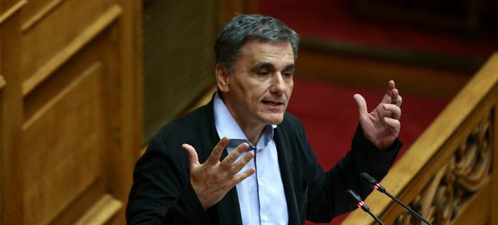 Ο Ευκλείδης Τσακαλώτος για πρώτη φορά παραδέχτηκε ότι η Ελλάδα δεν κατάφερε να πάρει το γαλλικό μηχανισμό για τη ρύθμιση του χρέους  -Φωτογραφία: Intimenews/ΤΖΑΜΑΡΟΣ ΠΑΝΑΓΙΩΤΗΣ