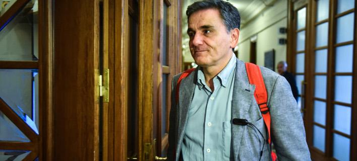 Ο Ευκλείδης Τσακαλώτος (Φωτογραφία: EUROKINISSI/ΤΑΤΙΑΝΑ ΜΠΟΛΑΡΗ)