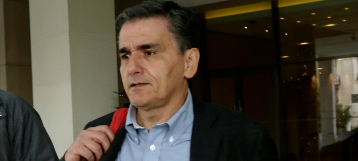 Ο υπουργός Οικονομικών Ευκλείδης Τσακαλώτος/Φωτογραφία: Eurokinissi