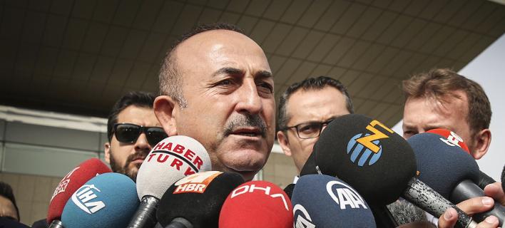 Ο Τούρκος υπουργός Εξωτερικών Μεβούτ Τσαβούσογλου- φωτογραφία AP