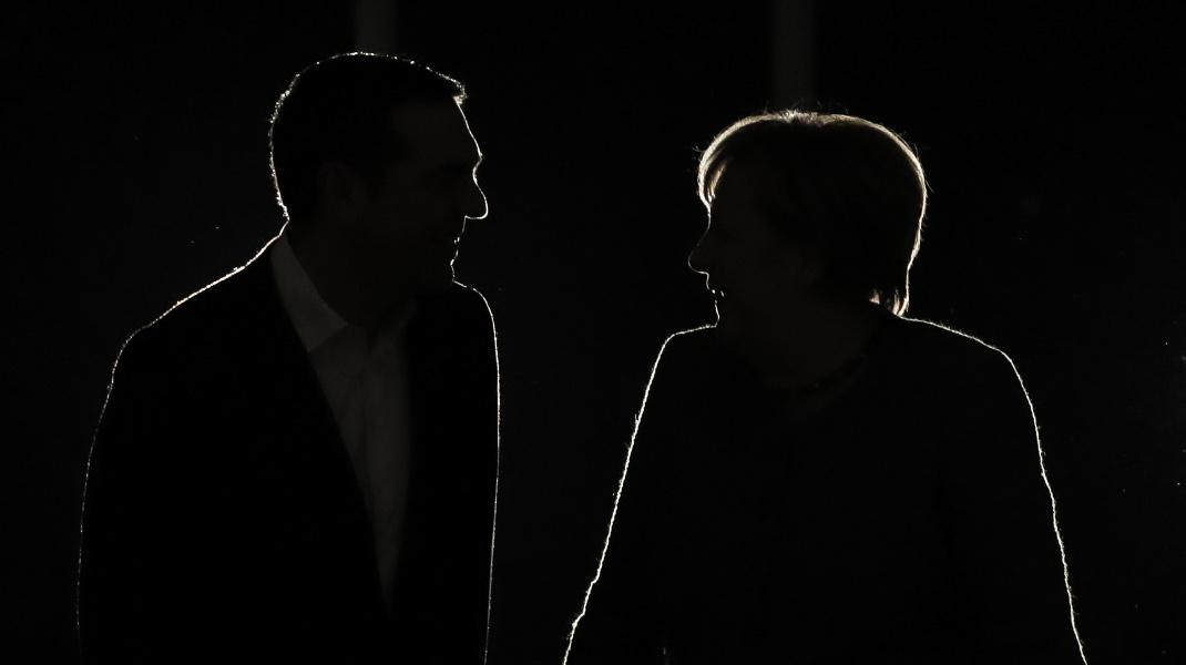 Η πιο ατμοσφαιρική φωτογραφία από την συνάντηση Τσίπρα-Μέρκελ -Φωτογραφία: Intimenews/ΛΙΑΚΟΣ ΓΙΑΝΝΗΣ