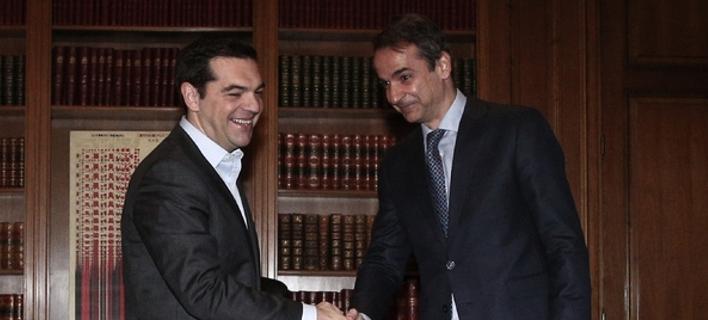 Νέα δημοσκόπηση: Προβάδισμα 17,5% της ΝΔ - 33% έναντι 15,5% του ΣΥΡΙΖΑ