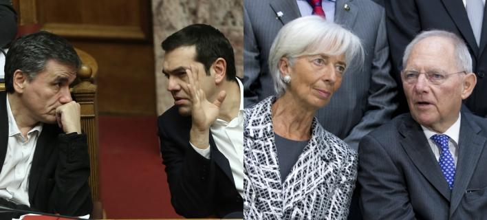 Κλείνει και ο δρόμος για τις αγορές -Τι φοβάται το Μαξίμου από Σόιμπλε-ΔΝΤ