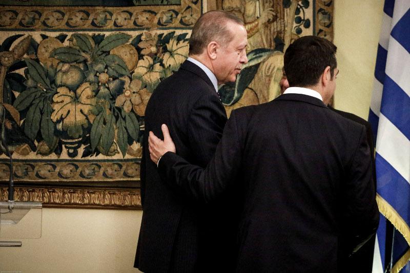 Τετ α τετ Τσίπρα-Ερντογάν στο Προεδρικό -«Μίλησα με Πάπα και Πούτιν, έχεις χαιρετίσματα»