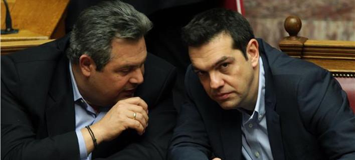 Εκτακτο: Τετ α τετ Τσίπρα-Καμμένου στη Βουλή