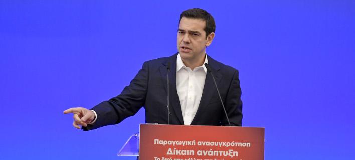 Ο Αλέξης Τσίπρας στο περιφερειακό συνέδριο Ηπείρου -Φωτογραφίες: Intimenews/ΠΑΠΠΑ ΠΑΡΑΣΚΕΥΗ