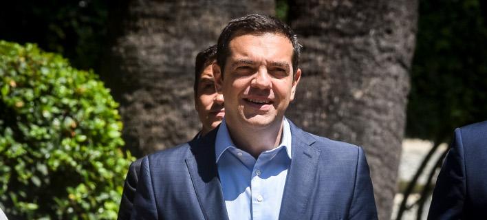 Ο Αλέξης Τσίπρας/ Φωτογραφία eurokinissi