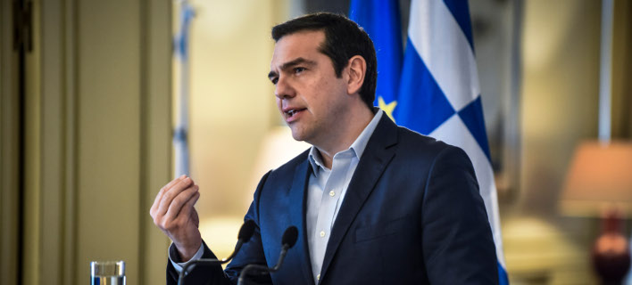 Ο πρωθυπουργός Αλέξης Τσίπρας/Φωτογραφία: Eurokinissi