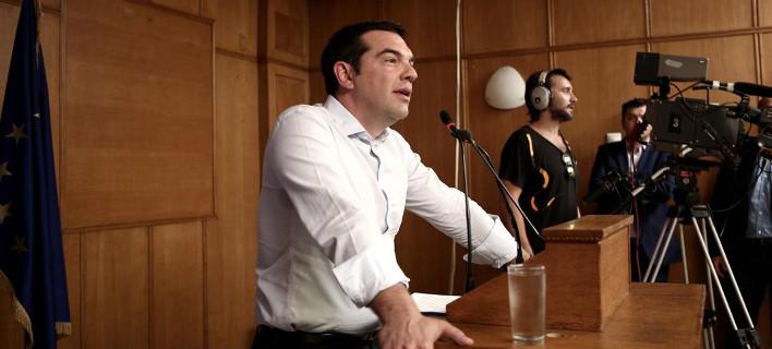 Το διάγγελμα Τσίπρα για τις εκλογές