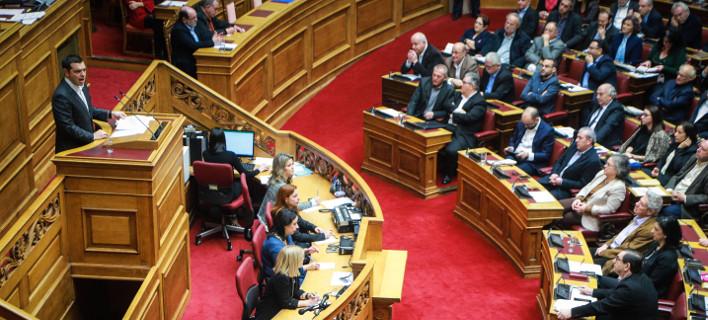 Στην Ολομέλεια της Βουλής θα κλείσει οριστικά το Μακεδονικο / Φωτογραφία: EUROKINISSI/ΓΙΩΡΓΟΣ ΚΟΝΤΑΡΙΝΗΣ