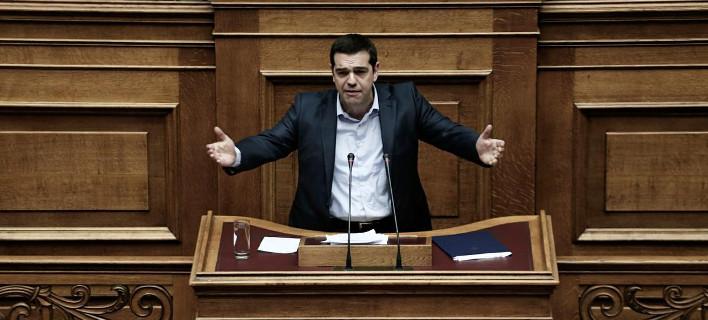 Τσίπρας στους βουλευτές του ΣΥΡΙΖΑ: Εδώ που ήρθαμε, ήρθαμε όλοι μαζί -Ή θα συνεχίσουμε όλοι μαζί ή θα φύγουμε όλοι μαζί