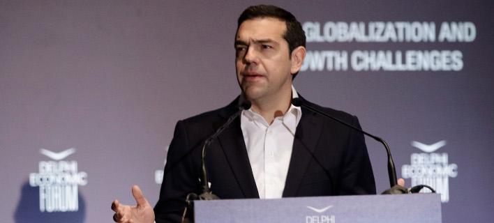 Live η ομιλία του Αλέξη Τσίπρα στο 4ο Οικονομικό Φόρουμ των Δελφών