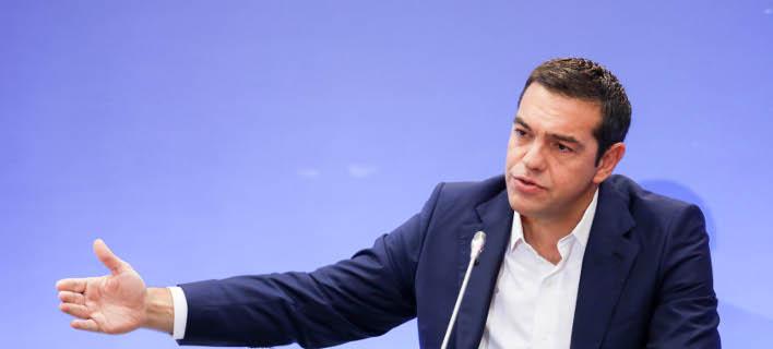Τα συγχαρητήριά του έστειλε στην κ. Μέρκελ ο Αλέξης Τσίπρας / (ΜΟΤΙΟΝΤΕΑΜ/ΒΑΣΙΛΗΣ ΒΕΡΒΕΡΙΔΗΣ)
