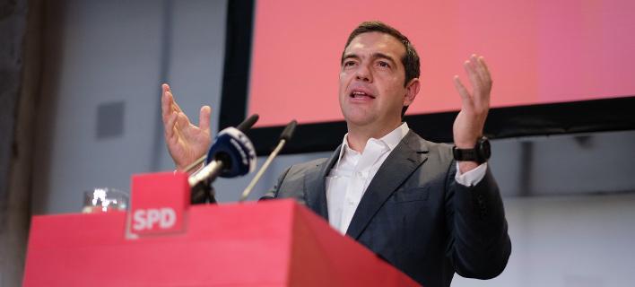 Ο Ελληνας πρωθυπουργός Αλέξης Τσίπρας / Φωτογραφία: Eurokinissi