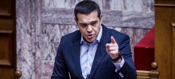 Ο πρωθυπουργός Αλέξης Τσίπρας / Φωτογραφία: Eurokinissi