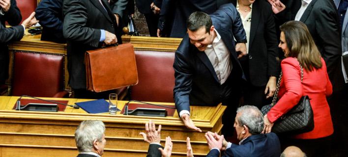 ψήφος εμπιστοσύνης στην κυβέρνηση/Φωτογραφία: Eurokinissi