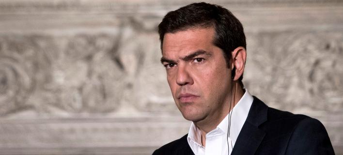 Στους Ιταλούς «επενδύει» τώρα ο Αλέξης Τσίπρας (AP Photo/Petros Giannakouris)