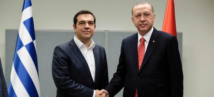 Ξεκίνησε η κρίσιμη συνάντηση Τσίπρα-Ερντογάν στις Βρυξέλλες