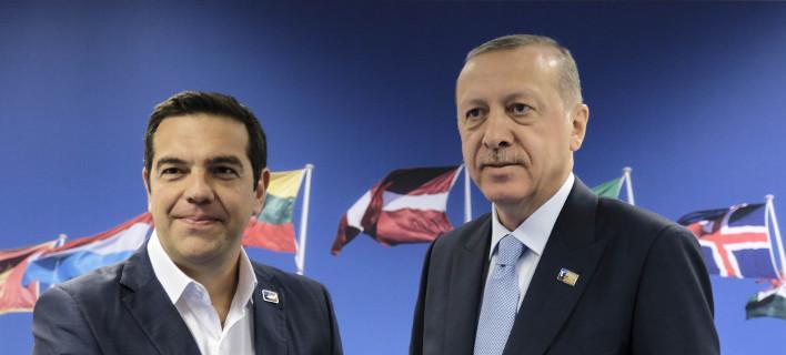 Ακαρπο το τετ α τετ Τσίπρα-Ερντογάν στο ΝΑΤΟ / Φωτογραφία: Eurokinissi
