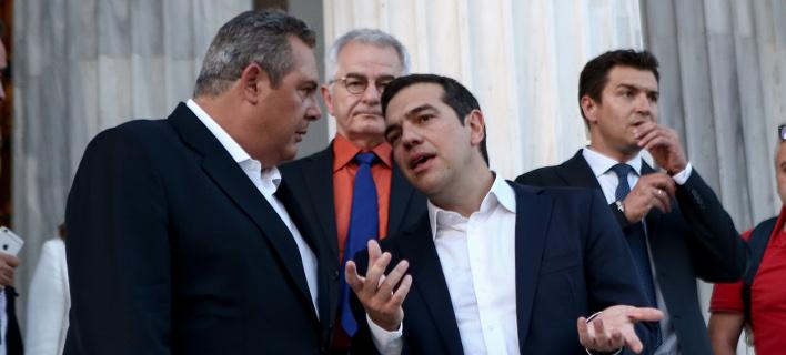 Αντιπολίτευση: Oμηρος του Καμμένου ο Τσίπρας -Εκβιάζεται ο πρωθυπουργός