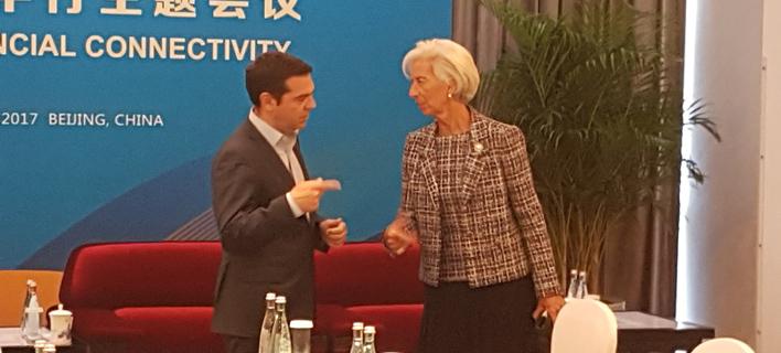 Λαγκάρντ: Αν ο Σόιμπλε επιμείνει, το ΔΝΤ θα αποχωρήσει -Τσίπρας: Τότε δεν θα εφαρμοστούν τα μέτρα