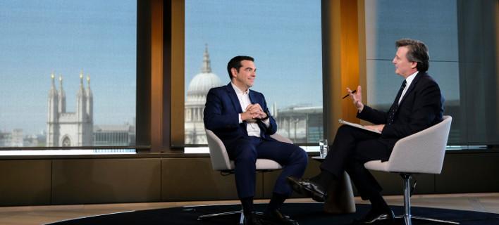 Σήμερα η ομιλία Τσίπρα στο London Business School /Φωτογραφία: ΑΡ