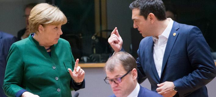 Βοήθεια από την Μέρκελ για το σκοπιανό θα ζητήσει ο Τσίπρας