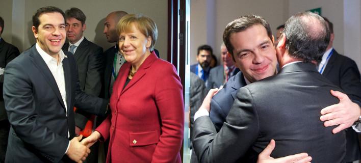 Σύνοδος Κορυφής: Τι ζήτησε ο Τσίπρας από Μέρκελ και Ολάντ