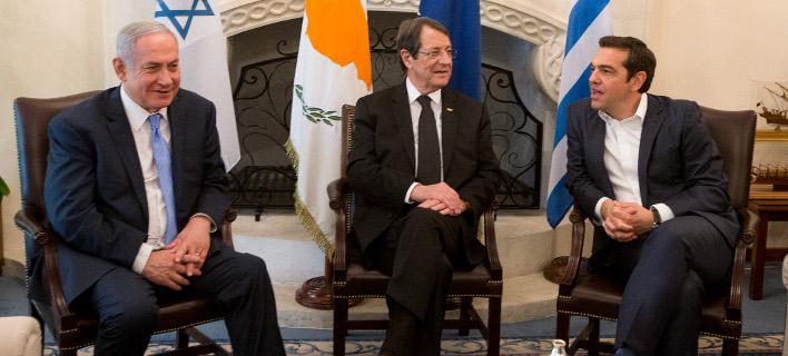 Σύνοδος Κορυφής Ελλάδας, Κύπρου, Ισραήλ -Για τον αγωγό East Med