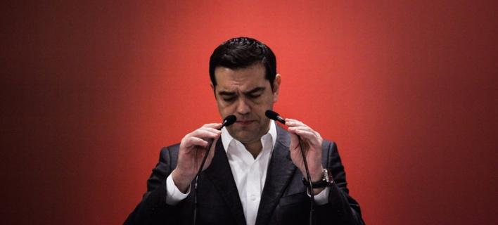 Ο Αλέξης Τσίπρας δεν μπορεί να βρει υποψήφιο για το Δήμο Αθηναίων / Φωτογραφία: Kostis Ntantamis / SOOC