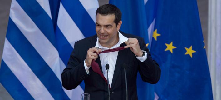 Ο Αλέξης Τσίπρας -Φωτογραφία αρχείου: AP Photo/Petros Giannakouris