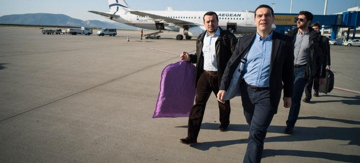 Αναχωρεί για 5νθήμερη επίσκεψη στις ΗΠΑ ο Πρωθυπουργός -Φωτογραφία αρχείου: ΓΡΑΦΕΙΟ ΤΥΠΟΥ ΠΡΩΘΥΠΟΥΡΓΟΥ/Andrea Bonetti