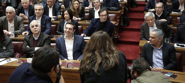 Αντιδρούν οι βουλευτές ΣΥΡΙΖΑ με την αξιολόγηση /Φωτογραφία: Intime News ΛΙΑΚΟΣ ΓΙΑΝΝΗΣ