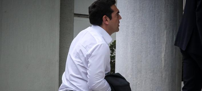 Ο Αλέξης Τσίπρας στο ΥΠΕΞ / Φωτογραφία: EUROKINISSI / ΒΑΣΙΛΗΣ ΡΕΜΠΑΠΗΣ