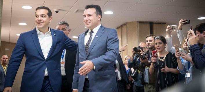 Κρίσιμο 20ήμερο για το Σκοπιανό -Επεσε νέο όνομα στο τραπέζι Τσίπρα-Ζάεφ