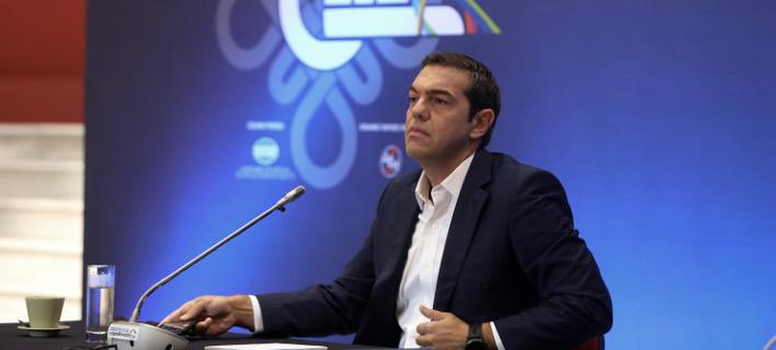 Επίθεση της ΠΟΕΔΗΝ στον κ.Τσίπρα για τα όσα είπε στη ΔΕΘ (Φωτογραφία: EUROKINISSI/ ΜΟΤΙΟΝΤΕΑΜ/ΒΑΣΙΛΗΣ ΒΕΡΒΕΡΙΔΗΣ)