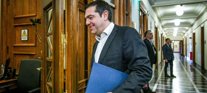 Ο Αλέξης Τσίπρας/ Φωτογραφία: EUROKINISSI- ΤΑΤΙΑΝΑ ΜΠΟΛΑΡΗ