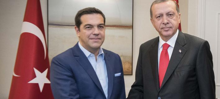 Με την επίσκεψη Ερντογάν ασχολείται ο γερμανικός Τύπος (Φωτογραφία: EUROKINISSI- Γ.Τ. Πρωθυπουργού, Andrea Bonetti)