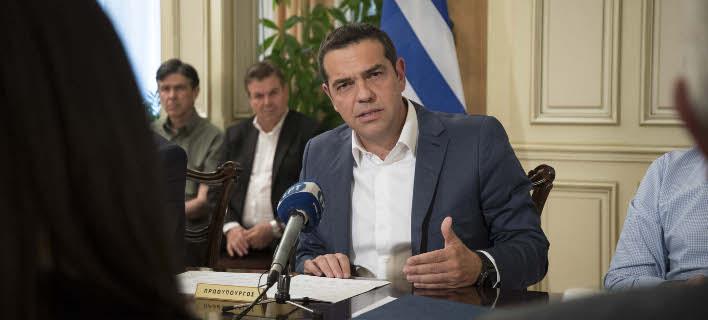 Ο Αλέξης Τσίπρας (Φωτογραφία: Eurokinissi/ΓΡ.ΤΥΠΟΥ ΠΡΩΘΥΠΟΥΡΓΟΥ/ ANDREA BONETTI)