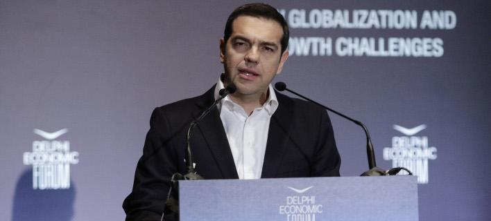 Ο Αλέξης Τσίπρας (Φωτογραφία: EUROKINISSI/ ΓΙΑΝΝΗΣ ΠΑΝΑΓΟΠΟΥΛΟΣ)
