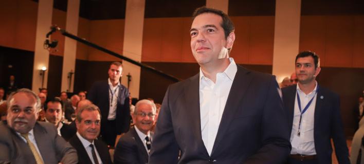 O Αλέξης Τσίπρας/ Φωτογραφία eurokinissi