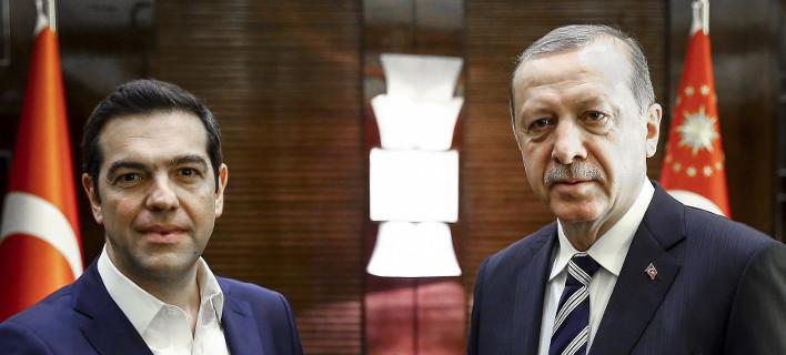 Τσίπρας-Ερντογάν συναντήθηκαν στο Πεκίνο :Την πλήρη υλοποίηση της Συνθήκης της Λωζάνης ζήτησε ο Τούρκος πρόεδρος