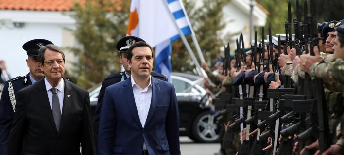 Αισιόδοξος ο Τσίπρας για τις διαδικασίες επίλυσης του Κυπριακού