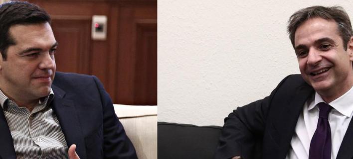 Η πρώτη δημοσκόπηση μετά την εκλογή Μητσοτάκη -Πρώτο κόμμα η ΝΔ