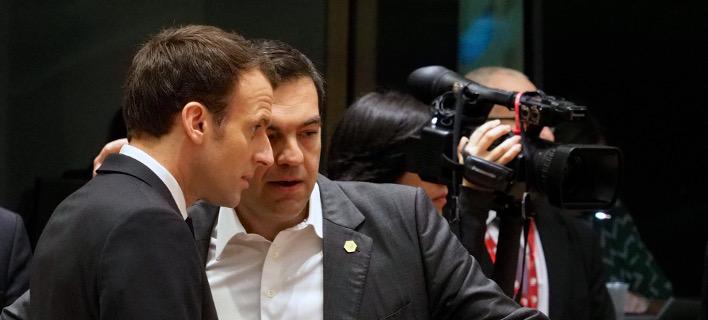 Τηλεφωνική επικοινωνία Τσίπρα-Μακρόν για Συρία, Τουρκία και ΠΓΔΜ