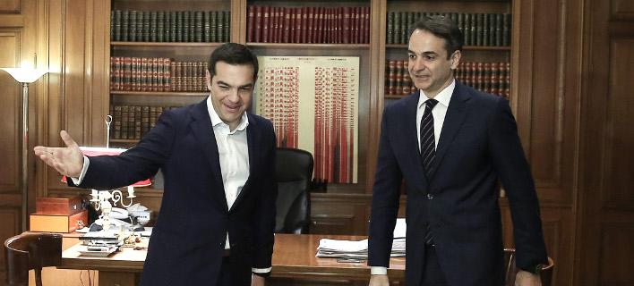 Δημοσκόπηση: Μπροστά η ΝΔ με 11 μονάδες -Συγκεντρώνει 32%-Στο 21% ο ΣΥΡΙΖΑ [pdf]