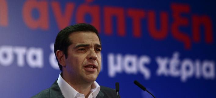 Ο Αλέξης Τσίπρας στη Ρόδο για το Αναπτυξιακό Συνέδριο/Φωτογραφία: IntimeNews