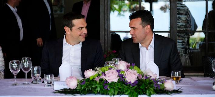 Τσίπρας σε Ζάεφ: Συγχαρητήρια φίλε μου, μεγάλο βήμα για την κοινή μας επιτυχία